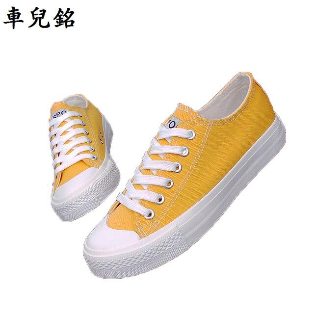 Chaussures automne jaunes Casual XVO5JC