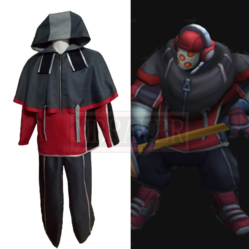 LOL Jax SKT T1 Cosplay Costume Grandmaster at Arms Cosplay Costume Custom Made