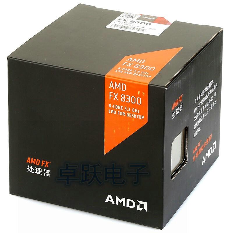 AMD FX 8300 CPU Processor Original Boxed Eight Core 3.3G/16M/95W Desktop Socket AM3+ FX 8300 NEW Free Shipping amd fx 8300 amd fxfx 8300 - AliExpress