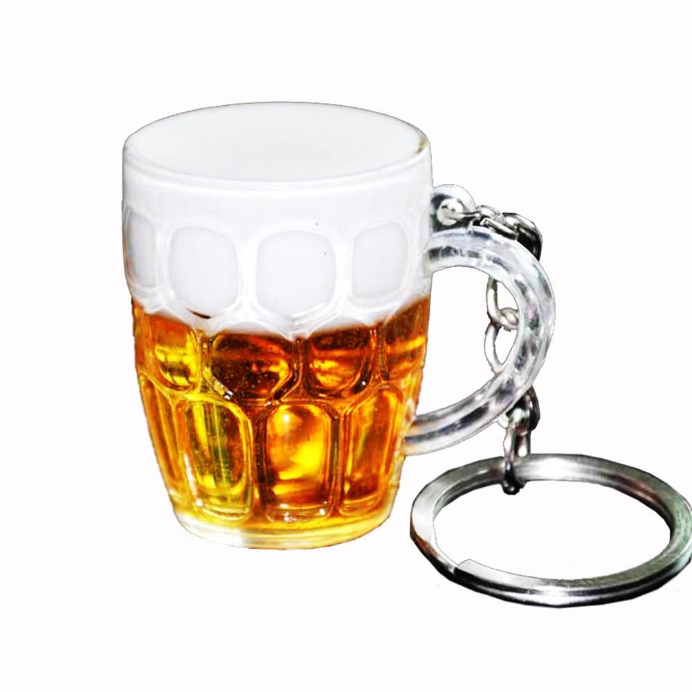 Брелок для ключей творческое кольцо для ключей пиво наружные аксессуары ключ искатель автомобиля часть