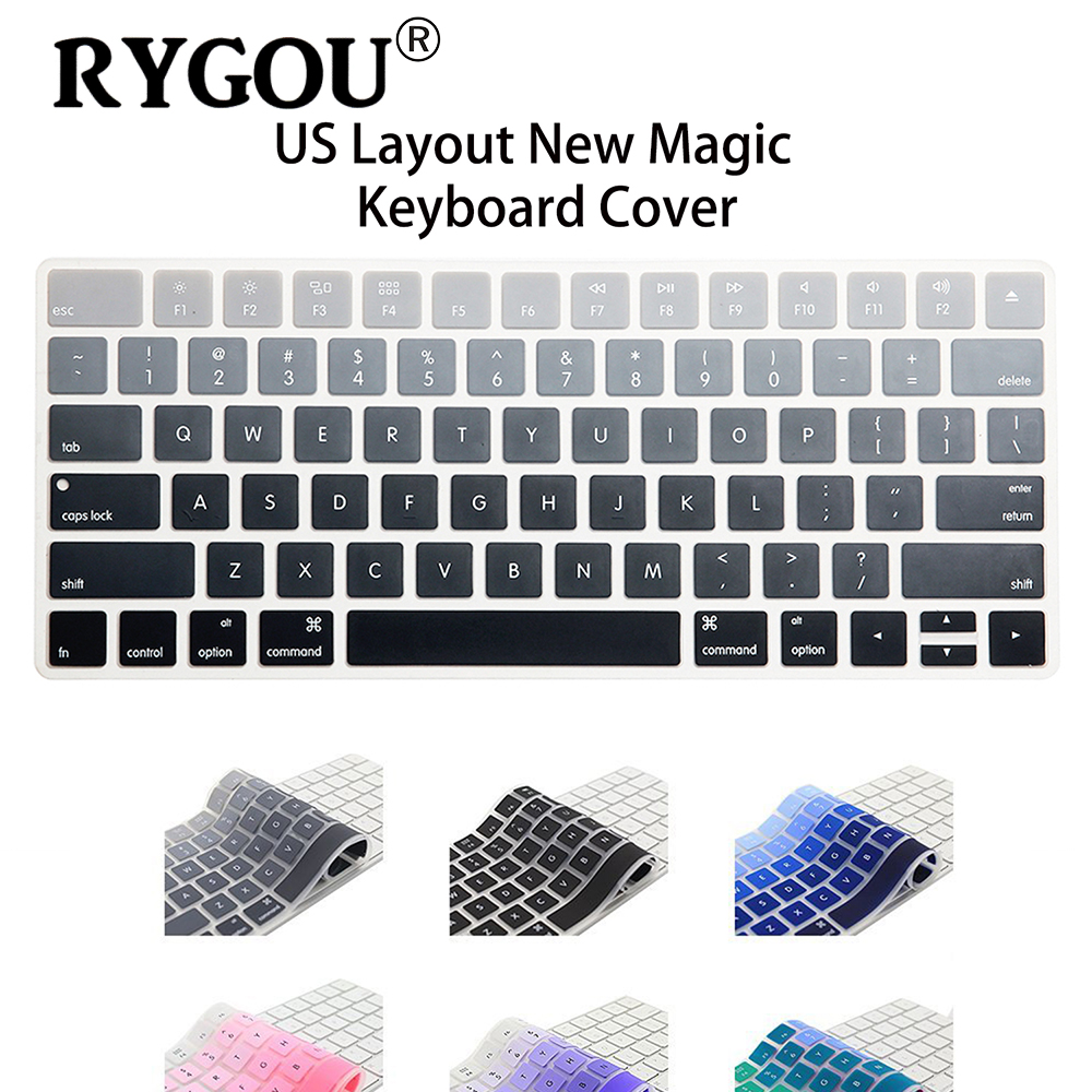 us english layout silicone wireless keyboard cover for apple new magic keyboard release in 2015. Black Bedroom Furniture Sets. Home Design Ideas