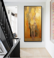 Vertical sexy nude art naked women Modern canvas art decorative pictures acrylic hand painted oil paintings for living room wall