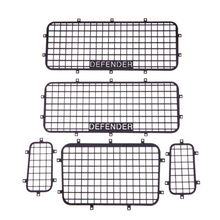 High Quality New 5pcs Metal Window Mesh Protective Net for 1/10 RC Crawler Car TRX-4 Practical Cars