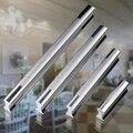 64 mm de calidad superior nuevo diseño moda de aluminio dos tonos manija del gabinete covert manija del gabinete de cocina manijas