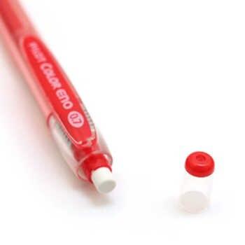 Pilot HCR-197-8C Color Eno 0.7mm Automatic Mechanical Pencil 8 Color set Plus 8 Tubes Leads