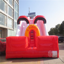 attractive inflatable ladder bouncers inflatable slide playground YLW-183