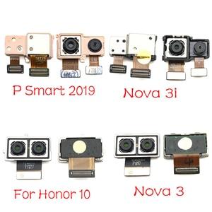 Image 2 - 1Pcs For Huawei Nova 3 3i / Honor 10 / P Smart 2019 Rear Big Back Camera Flex Cable Main Camera Module Replacement Parts