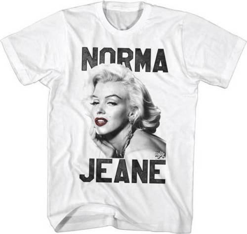 Marilyn Monroe 1950s Beauty Model Norma Jeane Adult T Shirt