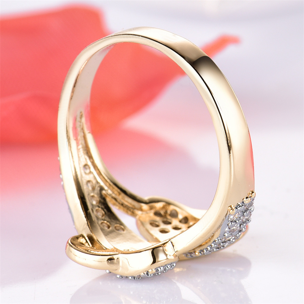 MOLIAM Vintage Unique S Design Women Rings 2017 New Fashion Gold ...