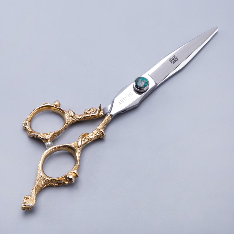 SI YUN 6.0inch(17.00cm) length MK60 model salon hair scissors
