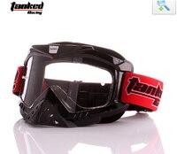 3 couleur TANKED T750 noir bleu rouge motocross lunettes, moto lunettes, off road motocross casque oculos pour femmes et hommes