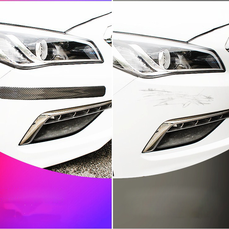 Image 4 - Car Stickers 5D Carbon Fiber Rubber Styling Door Sill Protector Goods For KIA Toyota BMW Audi Mazda Ford Hyundai Accessories-in Styling Mouldings from Automobiles & Motorcycles