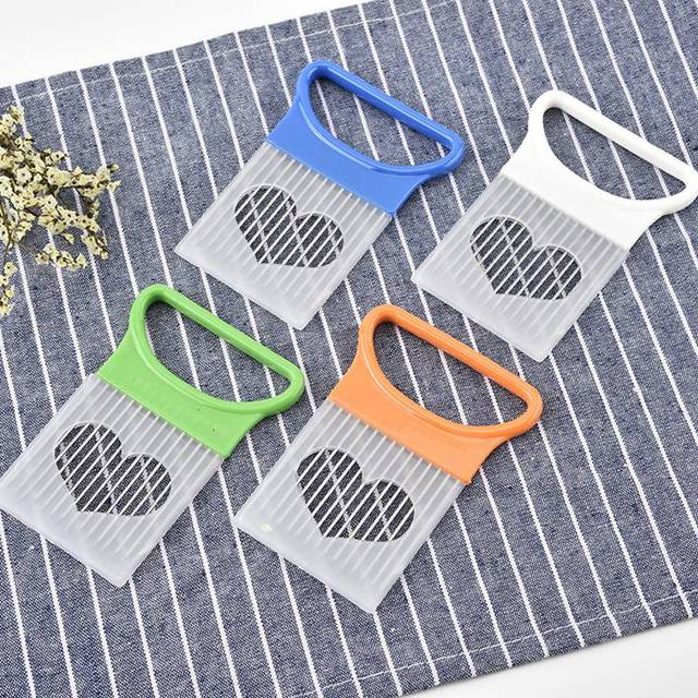 Corrugated Knife For French Fries Potatoes Onions Cutting Onion Vegetables Slicer Cutting Aid Holder Kitchen Gadgets accessories 3