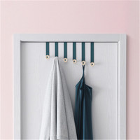 Nordic Door Hooks Nail free Wall Hangers Creative Door Back Coat Clothes Bags Towels Hat Hanging Rack Holder Hooks Home Storage