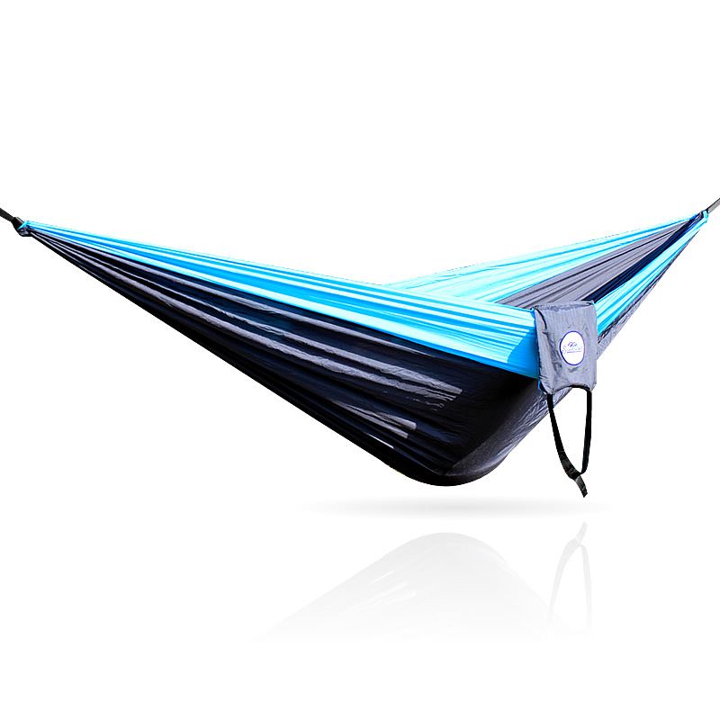 Image 5 - 328 Promotion  320*200cm Large Size Hammock For 2 With   Carabiners For Outdoor Camping Sleeping Hanging Bed Hamak-in Hammocks from Furniture
