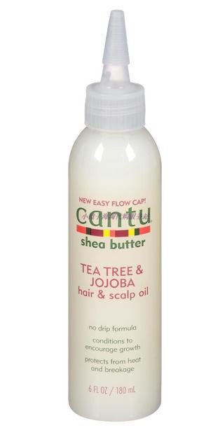 Cantu Shea Butter Tea Tree & Jojoba Hair & Scalp Oil 6 fl oz dado sens purderm normalizing cream 1 69 fl oz
