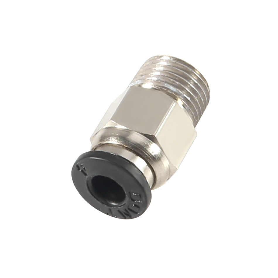 Khí nén Kết Nối Pc4-01 1.75mm 3mm PTFE Ống Nối Nhanh Cho E3d V6 Cho J-đầu Phụ Kiện Reprap hotend Phù Hợp Với 3D Máy In Phần