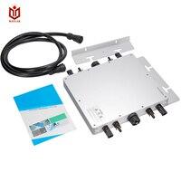 MAYLAR MaySun1200W Grid Tie Инвертор постоянного тока 22 50 В к AC 90 160 В MPPT Мощность Micro инверторы чистая синусоида Напряжение конвертер