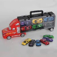 13 Pcs Pixar Cars Small Alloy Models Toy Car Children Educational Toys Simulation Model Gift For