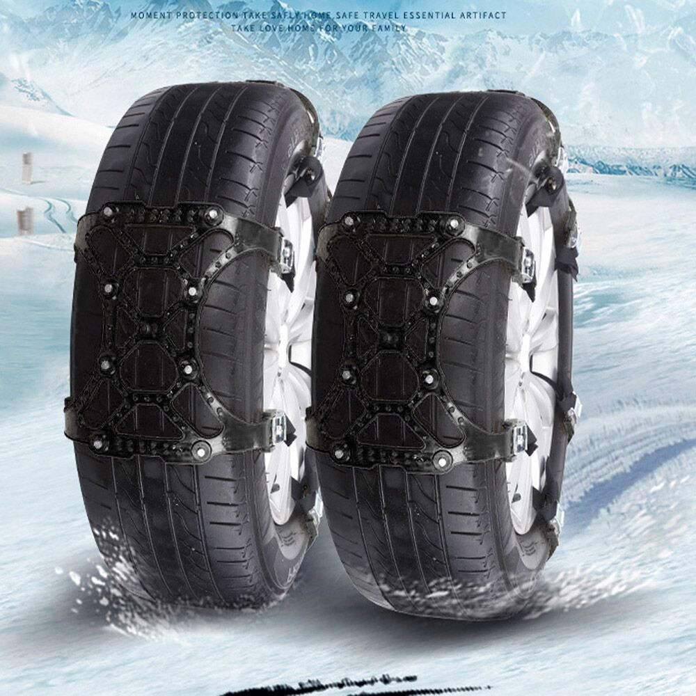 US $11 05 35% OFF|Snow Chains Car styling New 1PC Winter Truck Car Easy  Installation Snow Chain Tire Anti skid Belt-in Snow Chains from Automobiles  &