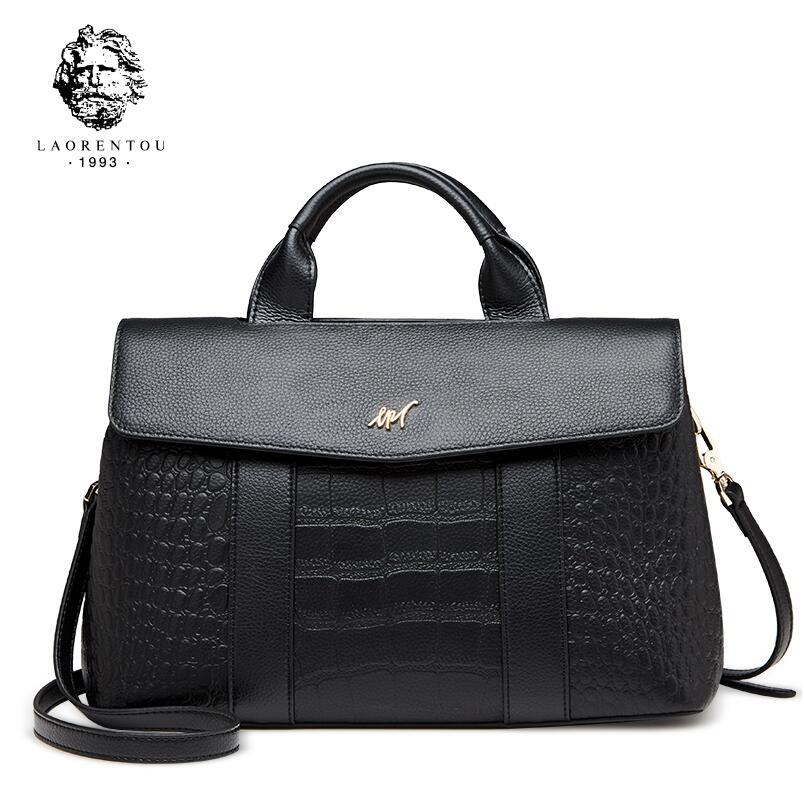 Famous brands top Cow Leather women bag Fashion Shoulder Messenger Bag 2017 new casual high-capacity bag Commuter bag aetoo the new oil wax cow leather bags real leather bag fashion in europe and america big capacity of the bag