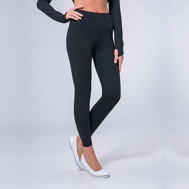 bebaa9251e2781 W-Yunna High Waist Solid Sporting Legging Nylon Spandex High Quality Ankle  Length Workout Leggin Candy Color Jegging Leggings
