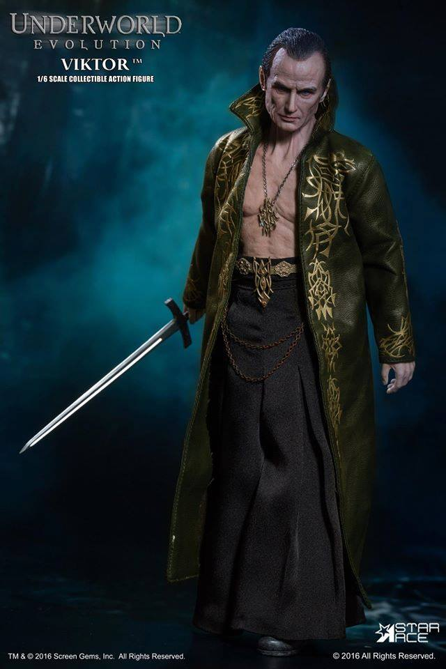 Star Ace Toys SA0037 Underworld Movie Evolution Vampire VIKTOR 1 6 Figure