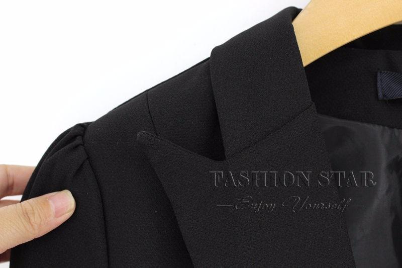 RealShe 2016 Kobiet Kurtki Długi Rękaw Garnitur Marynarka damska Marynarka Casual Mujer Feminina Plus Size Blazer Feminino Kurtki 52