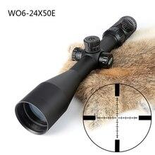 Tactical Jagd Schießen 6-24X50 Optical Sight P4 Glas Geätzt Absehen Zielfernrohre Seite Parallaxe Einstellung Zielfernrohr