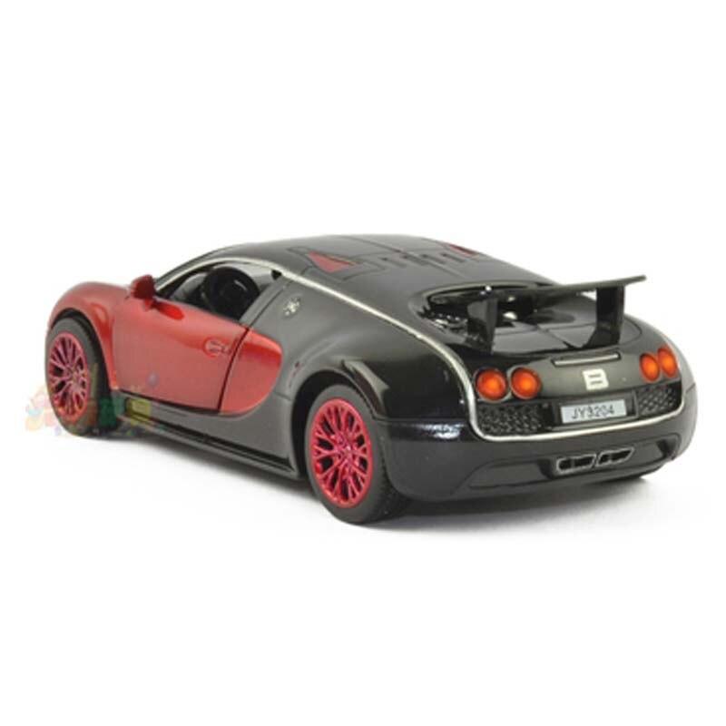 Escala 1:32 Bugatti Veyron Modelo de Aleación Diecast Car Tire Del Juguete cars