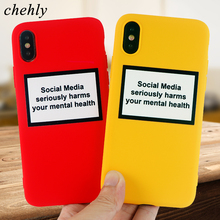 Funny Words Phone Case for iPhone X XR XS Max 8 7 6 S Plus Fashion Cases Soft Silicone Fitted Mobile Accessories Covers