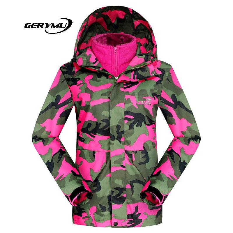 ФОТО 2016 Ski Suit Women Winter Soft Shell Camouflage Snowboard Sports Coat Waterproof Outdoor Skiing Female Jackets