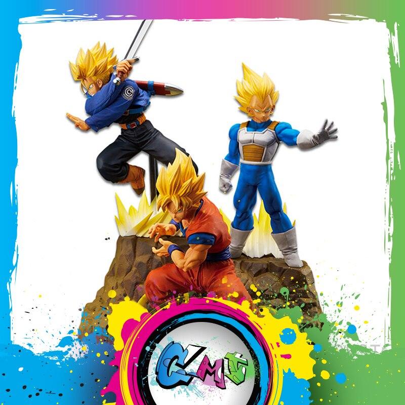 Toys & Hobbies Hearty Cmt Origianl Banpresto Dragon Ball Z Dbz Absolute Perfection Figure Super Saiyan Son Goku Vegeta Trunk Anime Pvc Toys Figure Cleaning The Oral Cavity.
