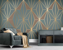 beibehang Custom Modern Minimalistic Abstract Lines Geometric Classic Background papel de parede wall papers home decor