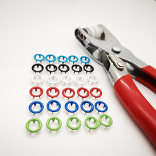9.5mm Studs Fasteners-Press Poppers-Buckle Snap-Buttons Longer Prong +Plier Press