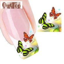 GRACEFUL Nail Tip Art  Transfers Decal Sticker fit all fingernails FREE SHIPPING JUL28