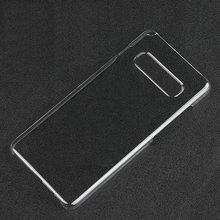 Ultra Crystal Clear PC Transparente Rígido de Volta Caso Capa Shell para Samsung Galaxy S10/Galaxy S10 Plus