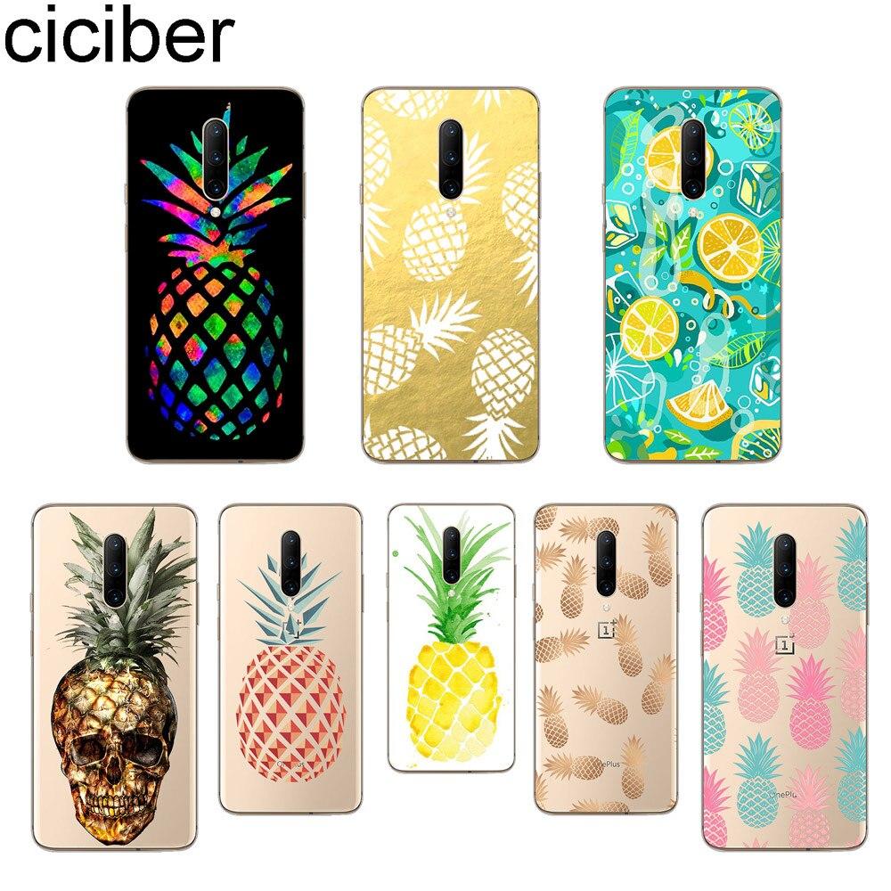 ciciber Funny Pineapple Phone Case For font b Oneplus b font font b 7 b font