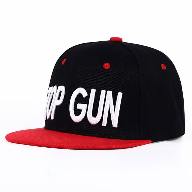 d94e0e9b8cd placeholder New TOP GUN Hat Classical Snapback Hat for Men Personality  Fashion baseball Cap Black Red
