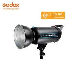 Godox QS серии 400WS QS-400D QS400 400 Вт Studio Строуб Photo Flash свет лампы для портретной моды свадебное художественной фотографии