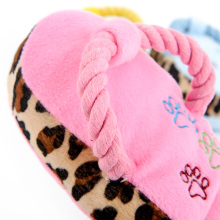 Squeaky Plush Slipper