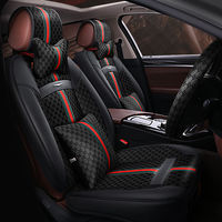 New 6D Car Seat Cover,Universal Seat Cushion,Senior Leather,Car pad,Sport Car Styling,Car Styling For Sedan SUV
