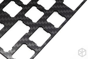 Image 5 - 60% Aluminum Mechanical Keyboard carbon fiber plate support xd60 xd64 3.0 v3.0 gh60 support split spacebar 3u spacebar
