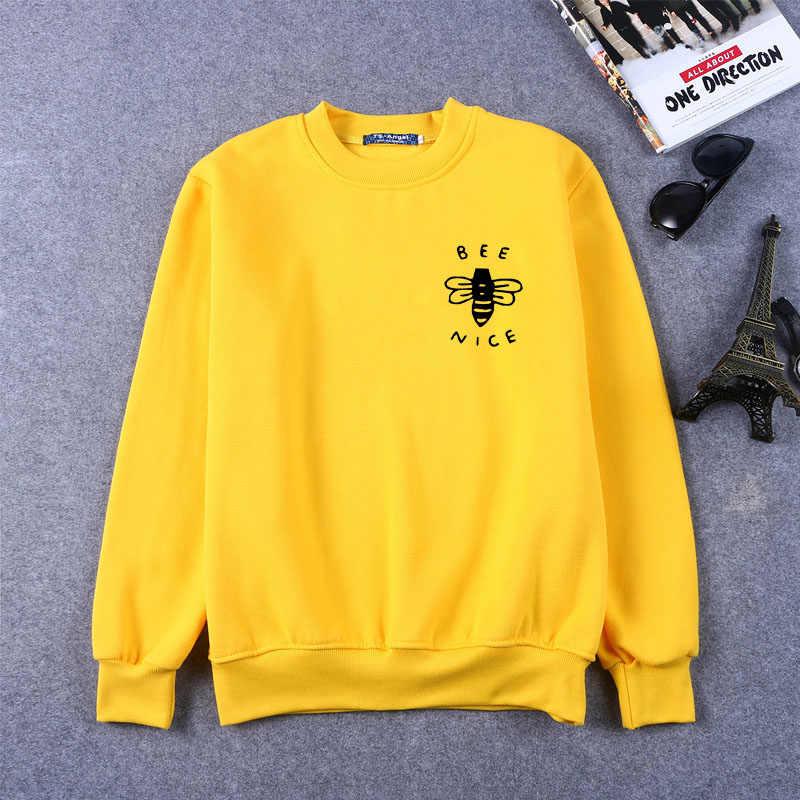 Güzel Sevimli cep baskı Tişörtü Arı güzel Tişörtü bayan Tişörtü güzel dostu grafik Tişörtü cep arı hediye