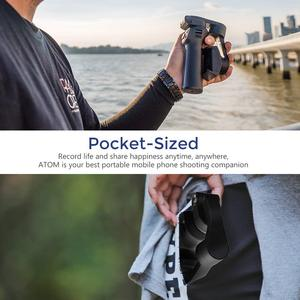 Image 4 - Snoppa Atom Foldable Pocket Sized 3 Axis Handheld Gimbal Stabilizer for iPhone Samsung XiaoMi Huawei for Gopro 6 7 PK Smooth 4