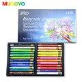 Mungyo mac 12/24/36 cores série galeria aquarell lápis de cor solúvel em água pintura de desenho da arte