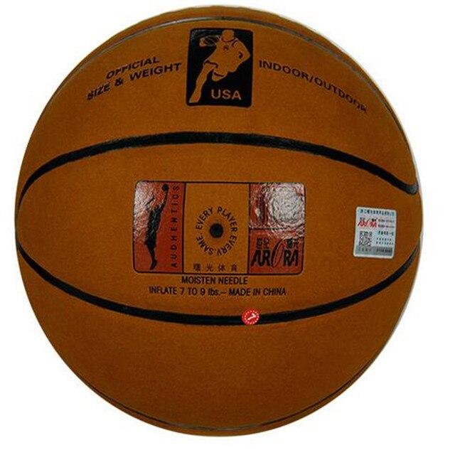 La cosa reale pelle di Vacchetta pelliccia di pallacanestro All'ingrosso acquisto diretto di scuole primarie e secondarie