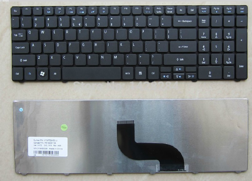 SSEA Gratis Verzending Nieuwe ONS Toetsenbord Voor Acer Aspire 5536 5536G 5738 5738g 5740 5810 5810 T 7735 5336 5410 5532 5252 5742G 5742