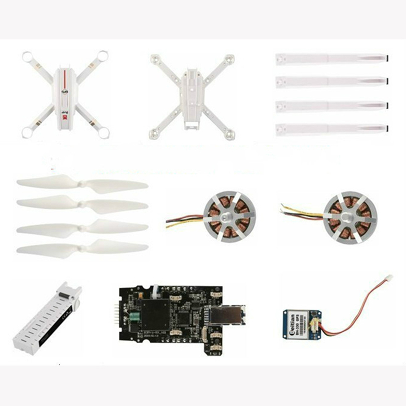 MJX Bugs 3 Pro B3PRO RC Drone Quadcopter Spare Parts Propellers CW CCW Motor ESC Charger Landing GPS Battery Accessory