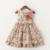 2017 Crianças roupas vestido da menina de vestido de verão para a menina de verão estilo floral impressão de algodão do bebê crianças roupas